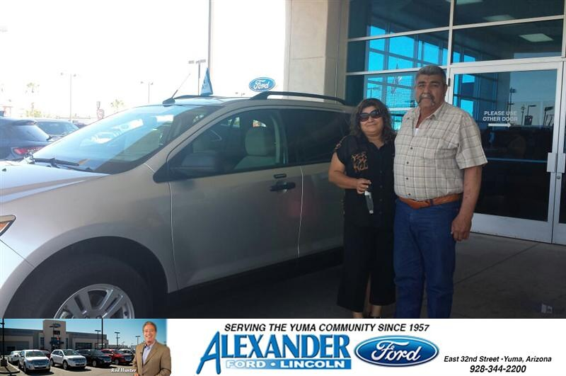 Congratulations To Mario A Martinez Lopez On Your Ford Edge Purchase From Jesse Rueda