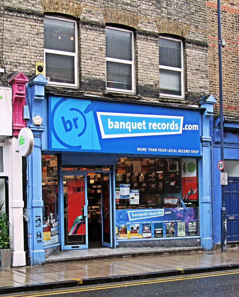 Banquet Records Shop, Kingston-upon-Thames - London. | Flickr on