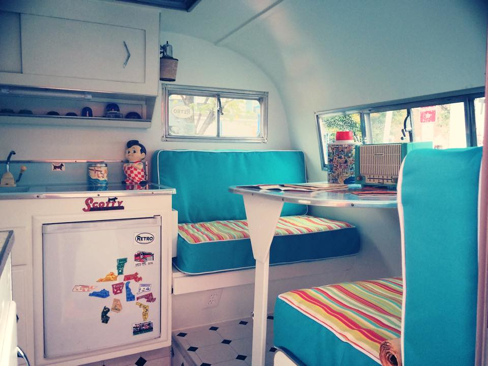 Retro Roadmap Serro Scotty Camper Interior
