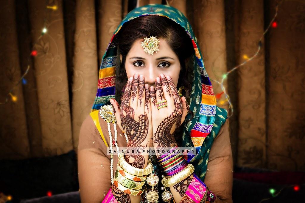 Mehndi Bridal Photography : Mehndi bride zaina faraola flickr
