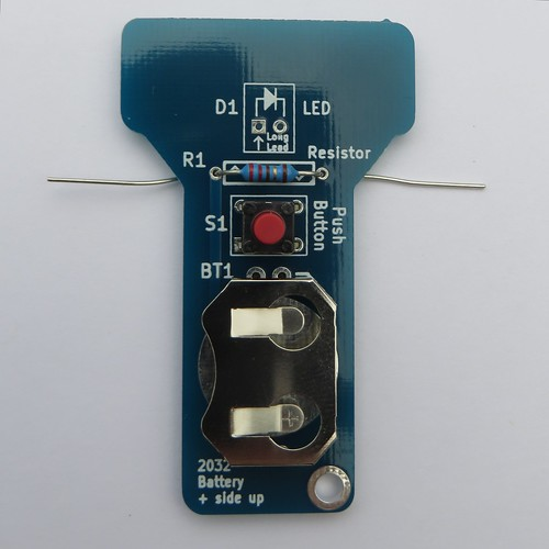 Install the resistor into the PCB | by Low Voltage Labs