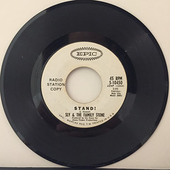 SLY & THE FAMILY STONE:STAND!(RECORD SIDE-B)