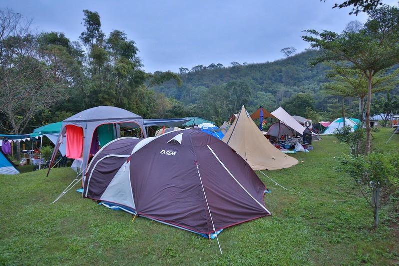 早晨的營區