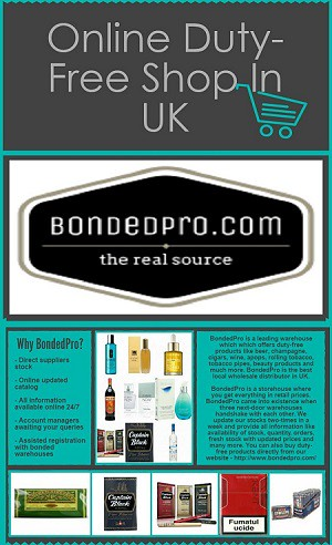Online Spirits Distributors UK | BondedPro specializes in th