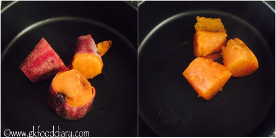 How to Make Sweet Potato Puree for Babies - step 3