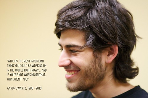 Aaron Swartz | by Sons Of Piracy