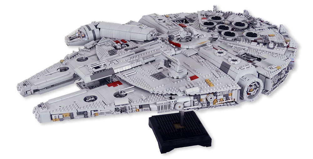 Custom Lego Millennium Falcon Star Wars Instructions For Flickr