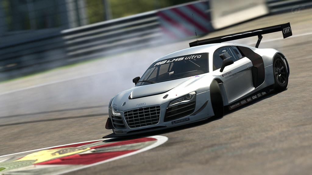 Audi R LMS Ultra Drifting Spielberg GT Flickr - Audi r8 race car 01 gt6
