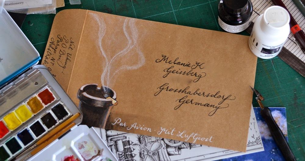 mail art MK