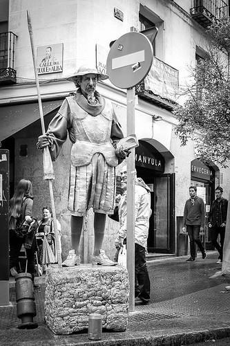 Don quijote en el rastro de madrid en octubre de 2014 flickr - Hotel el quijote madrid ...