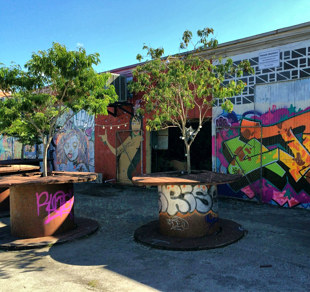 ... Brew Urban Cafe Coffee Shop Patio U0026 Street Art, Fort Lauderdale | By  Ron Gunzburger