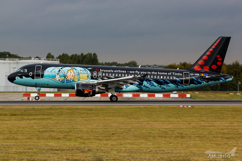Brussels Airlines - A320 - OO-SNB (2)
