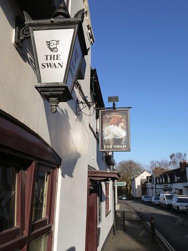 The Swan at Chaddesley Corbett