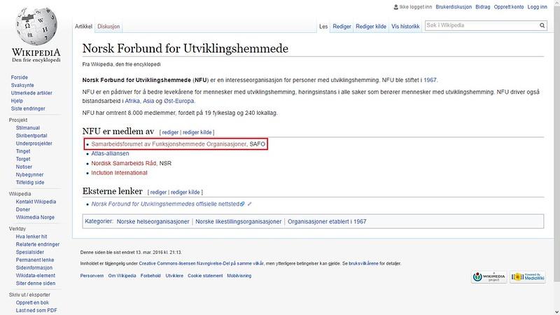 safo mer om wiki