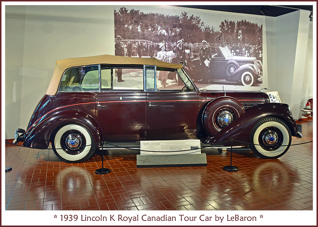 1939 lincoln k royal canadian tour car visit to the gilmor flickr 1934 Lincoln Lincoln Luxury Car 1939 lincoln k royal canadian tour car by sjb4photos