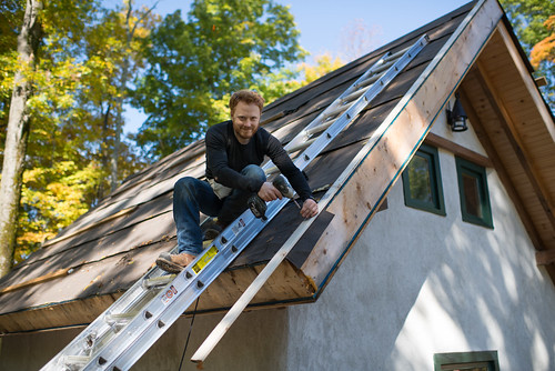 Tyler Affixing Furring Strip for Cold Roof Construction | by goingslowly