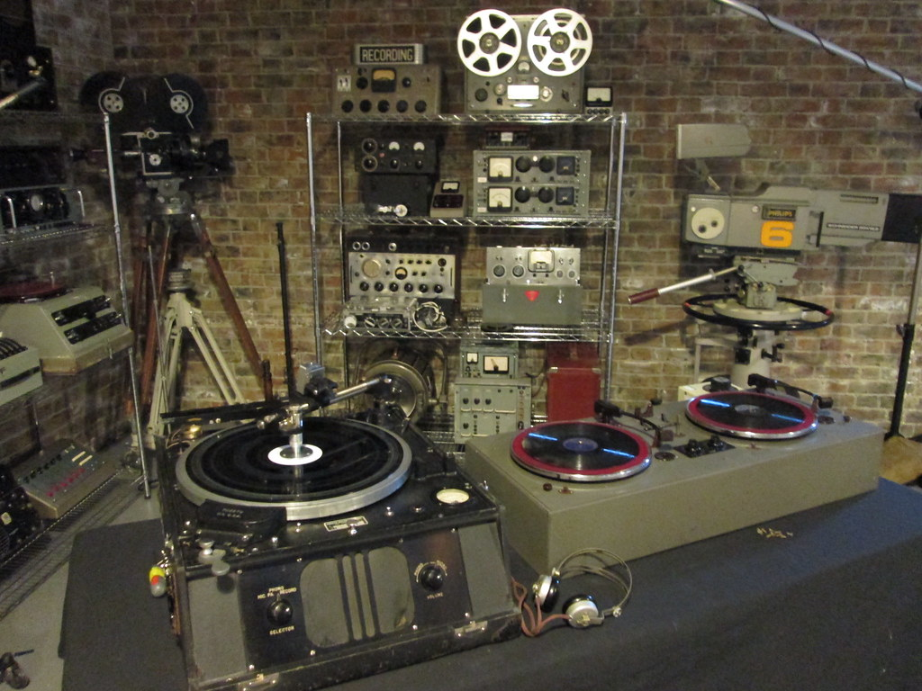 Vintage Audio Set For Bbc Documentary Cinephonics Flickr