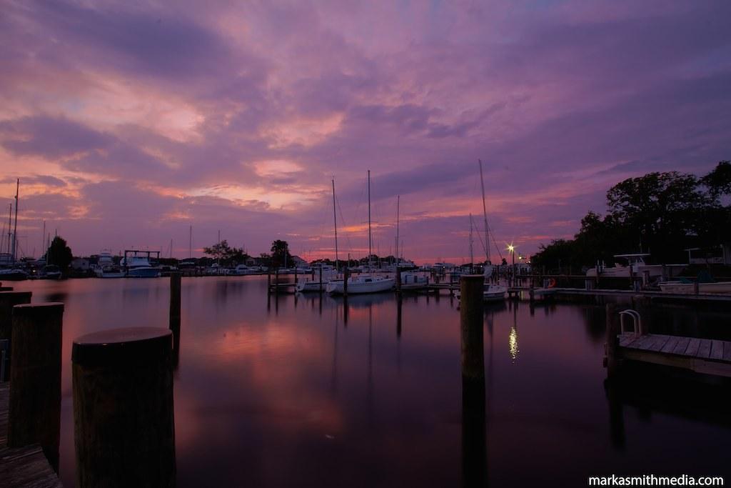 Solomons Island Dawn 91626