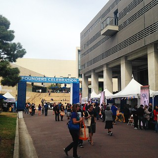 At #foundersdayucsd today! Crowded and fun! | by jennifermnewell