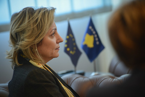 04.10.2016 Ms. Apostolova meets Minister of Public Administration Mr. Mahir Yagcilar (3 of 3) | by European Union Office in Kosovo