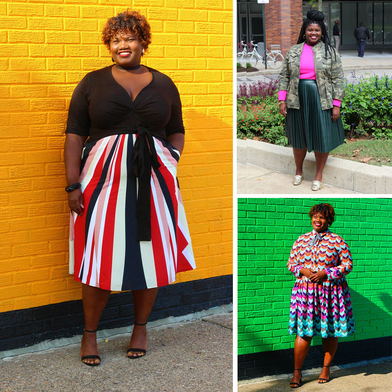 Georgette - Grown & Curvy Woman, over 40 fashion & style blogger