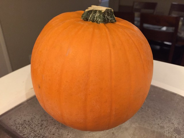 Leftover pumpkin