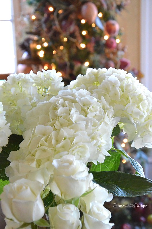 White Hydrangeas-Housepitality Designs