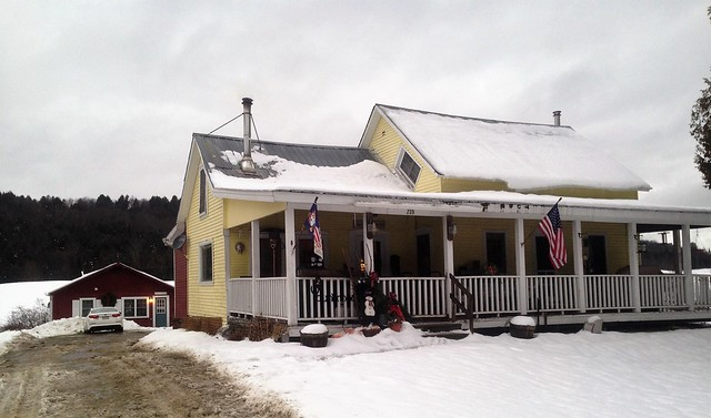 Vermont cabin rentals - farm stay - Vermont winter
