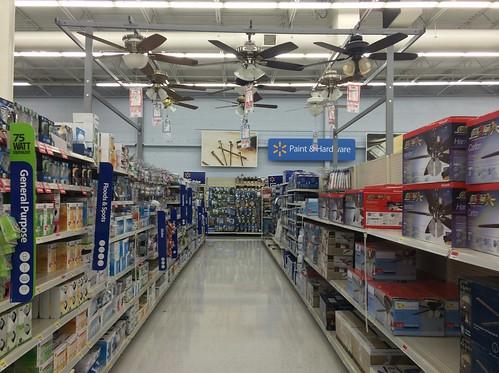 Wal Mart Ceiling Fan Display