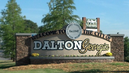 Welcome To Dalton Georgia Our New City Limit Sign In