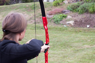 Archery Shooting Arrow Girl Target | by marketingthechange
