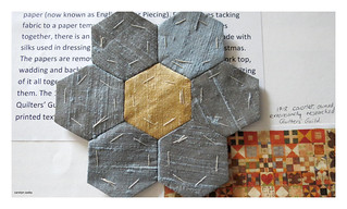 English paper piecing | by Carolyn Saxby