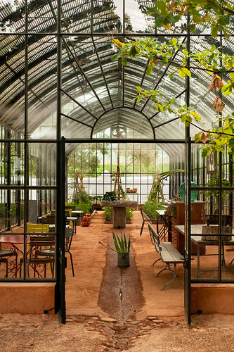 Greenhouse at Babylonstoren (South Africa) | by irecyclart