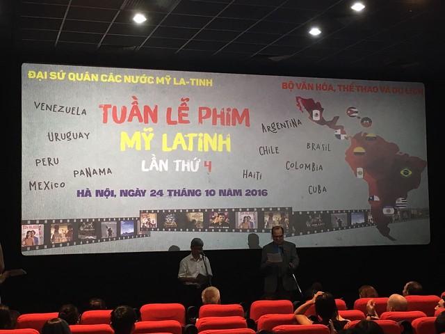 Inauguración Festival de Cine 2016