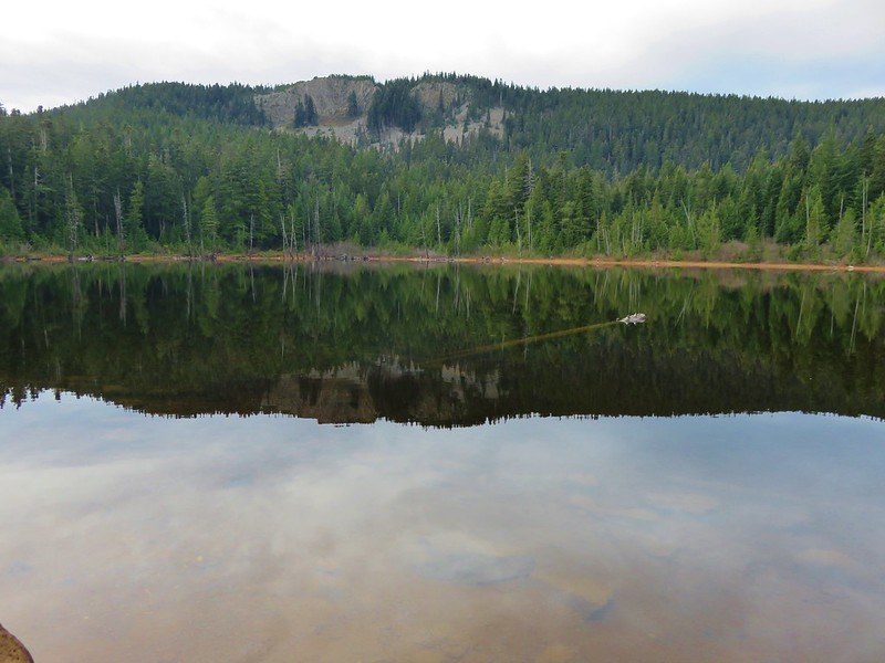 Green Point Mountain from Rainy Lake
