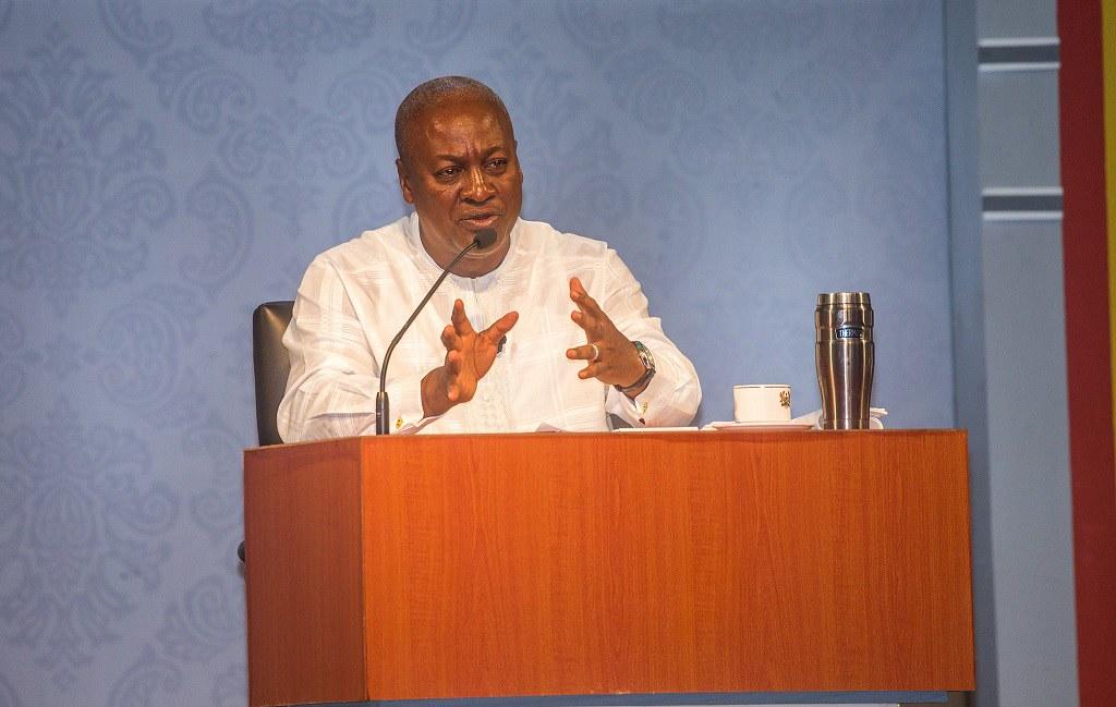 Ghana Votes JD Mahama
