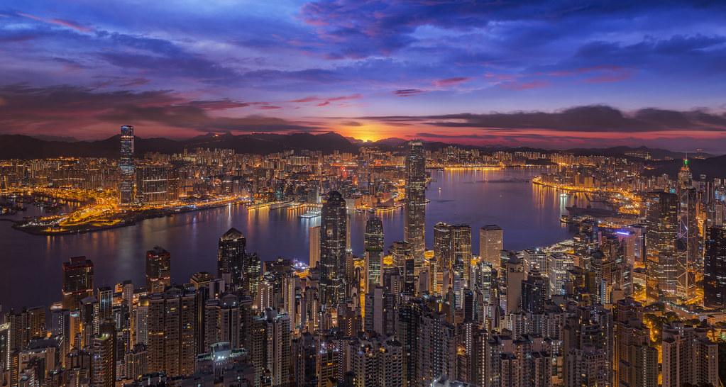 H.K.夜景  H. K. Night香港夜景