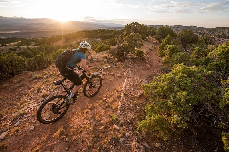 BLM Mountain Biking: Johnny Behind the Rocks Trail System in Wyoming