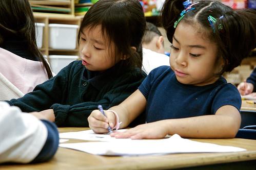 Kids-Hmong-school