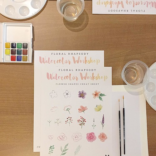 Thank you all who had joined @babalisme watercolor workshop with @refinery_id !!! You're the best ever!! Huge thanks for @ourcactus @brown_id @refinery_id  @madeiracookies @glosisresto @chiayo.id #workshopindonesia #class #watercolor #paint #diy #handmade | by babalisme