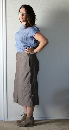aug 11 style arc butterick side waist culottes | by wandering spirit designs