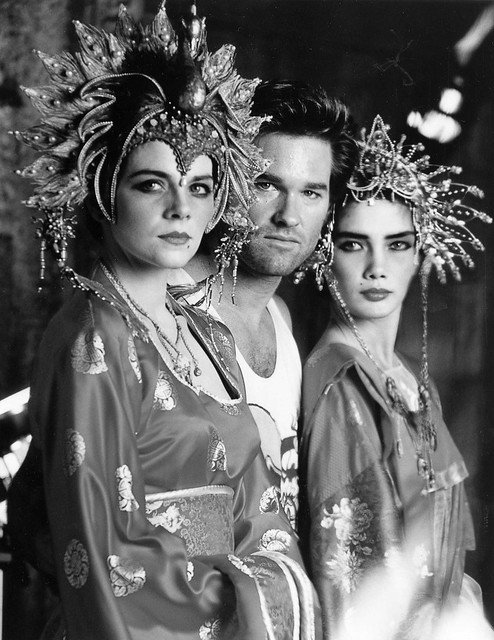 Big Trouble in Little China - Backstage 3 - Kim Catrall, Kurt Russell and Suzee Pai