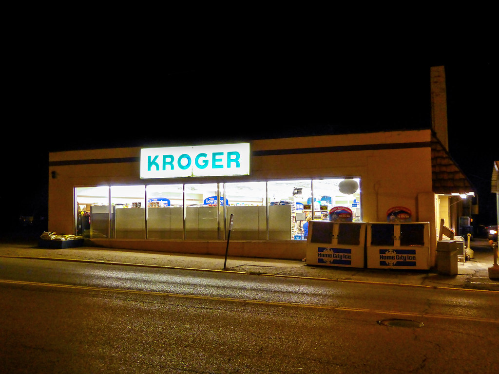 The Smallest Kroger It Is Possible To See Where A Front D Flickr - Map of kroger stores in us