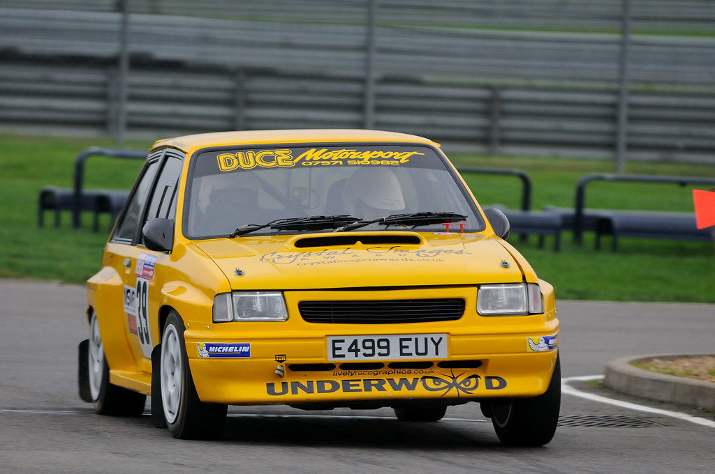 Rockingham Stages Rally 2015 - #39 - Vauxhall Nova 1600 | Flickr