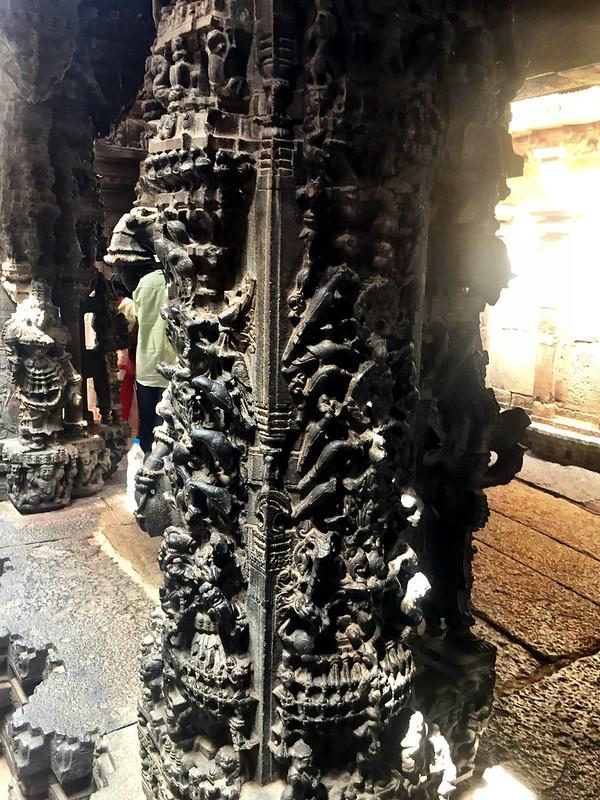 Pillar work