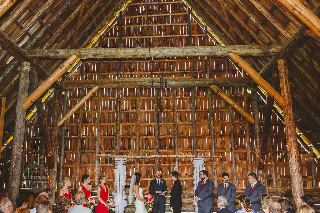 Huble Homestead Wedding Ceremony - Prince George BC