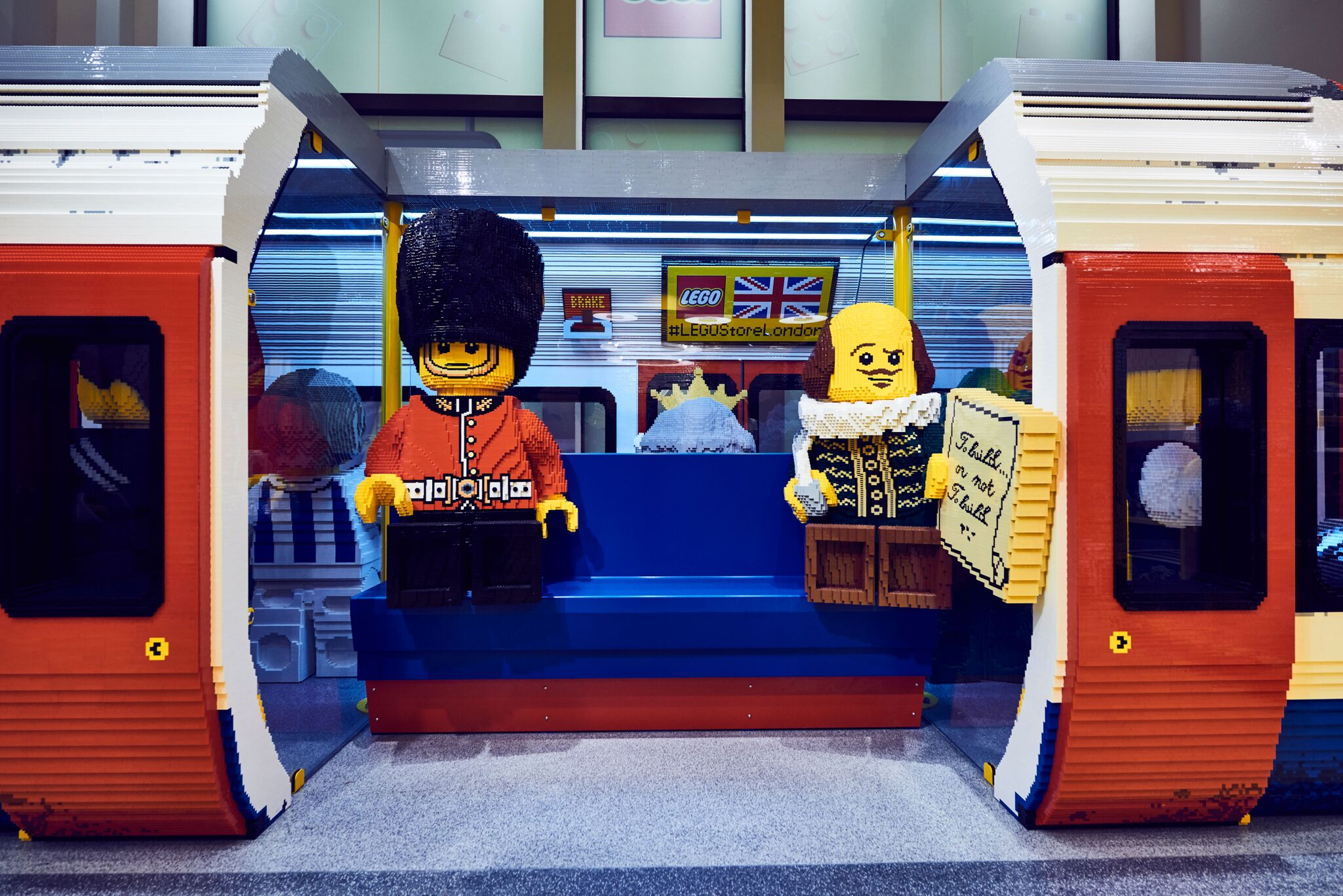 World's largest LEGO store opens in London's Leicester Square