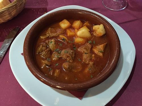 Carcamusas, Restaurante Cerveceria Dragos, Toledo, Spain