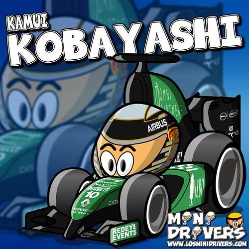 2014 - Caterham F1 Team - Kamui Kobayashi