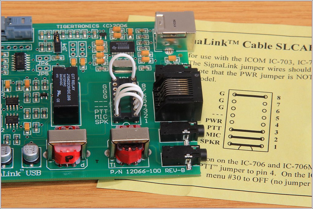 signalink usb jp1 for icom trx circuit diagram corrected flickr rh flickr com